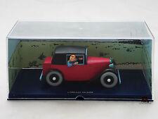 Miniature BD En voiture Tintin L'Oreille Cassée Coupé SPIDER Moulinsart Diecast