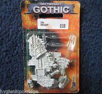 1999 Battlefleet Gothic Ork Pirate Kill Kroozer Cruiser Games Workshop BFG MIB
