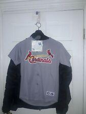 Albert Pujols St Louis Cardinals shirt MLB baseball Majestic Jersey NEW Youth M