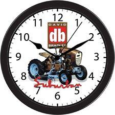 David Bradley Suburban Sears Garden Tractor Wall Clock Black Trim part art gift