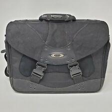 Oakley Tactical Field Gear Laptop Messenger Bag Briefcase Black 100% Nylon