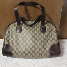 Authentic GUCCI Italy Vintage Handbag 1980 With Original Box ~RARE~HTF New York