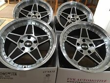 "Fyk ED3 17"" 10j Cerchi in lega 5x112 EURO DRIFT AUDI MERCEDES VW Golf BBS RS"