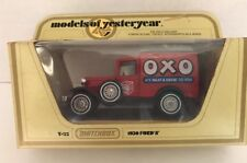 New Original 1978 MATCHBOX Yesteryear 1930 FORD A OXO Red Scale 1:40 England