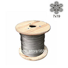 2.5mm 304 Stainless Steel Cable  7x19 Wire Rope 5meters