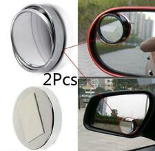 2Pcs Car Vehicle Wide Angle Round Convex Mirror Blind Spot Auto Rear View D