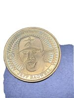 1998 Pinnacle Mint Collection Coins Brass Jeff Bagwell #01 Houston Astros HOF