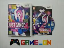Nintendo Wii Just Dance 4 Special Edition Game Complete ~ FREE P+P