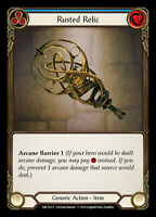 Flesh and Blood TCG! 1x Rusted Relic - Rainbow Foil - NM Arcane Rising