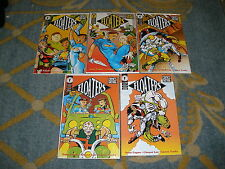 DARK HORSE COMICS FLOATERS MINI SERIES #1-5 COMICS BY SPIKE FAGAN,  LEE,  TOOKS