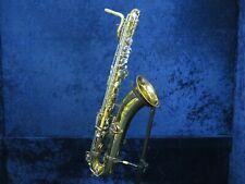 ..King Zephyr Baritone Saxophone Ser#369391 Plays Well and Needs Tweak