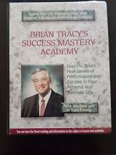 Brian Tracy Success Mastery Academy 16 pak cassettes c/w new workbook