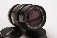 Canon Lens FD 135mm 1:3.5 S.C. (Canon FD mount)