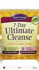 Nature's Secret 7 Day Ultimate Cleanse 2 Part Body Cleanse Fast Free 1st Class