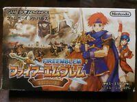 GBA Fire Emblem Fuuin no Tsurugi Japan Gameboy Advance w/ box Japan