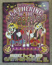 2013 Gathering of the Juggalos 14th Annual booklet new Insane Clown Posse Icp