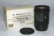 Tokina 35-300mm F4,5-6,7 SD AF 353 #6151529 für Canon EF  mit OVP