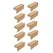 Sprung Bed Slat Holders 63mm Wooden Frame 10 Pack