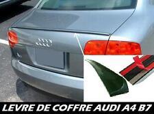 LAME COFFRE AUDI A4 B7 04-08 sline quattro S4 SPOILER BECQUET LEVRE AILERON