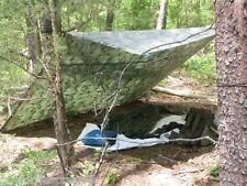 CAMO Survival Shelter Tarp Emergency Doomsday Prepper Apocalypse Bug Out Bag