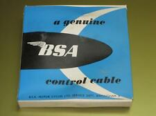 """Genuine BSA 60"""" clutch control cable NOS 60-2081 A65 63-68 650 500 twin Twins"""
