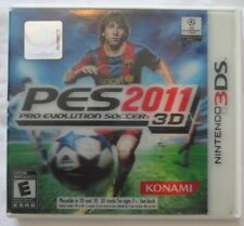 Nintendo 3DS PES 2011 3D Pro Evolution Soccer (Manual, box and game)