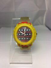 Swiss Swatch? Watch 34mm Coca Cola Watch Stars Mirror Bottle Cap Cover