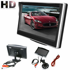 """5"""" Inch TFT LCD HD Screen Monitor for Car Rear Reverse Rearview Backup Camera AU"""