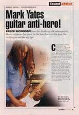 Terrorvision Mark Yates 'Guitarist' Interview Clipping TRANSPARENCY