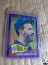2014 Topps Heritage Jose Bautista Purple Chrome #345 Really Cool Card