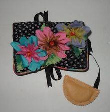 Goody Goody California Small Handbag Velvet Pink Blue Purple Floral Black White