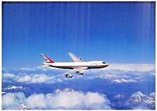 CONCORD  747 Airline Airplane Postcard