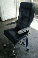 Made to order - Aircraft Airplane MD80 office desk CHAIR Mancave Seat Aviation