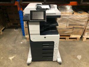 HP LaserJet Enterprise M725 A3 Mono Multifunction Laser Printer Copier Scanner
