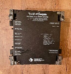 Vintage ROCKFORD FOSGATE PUNCH 200DSM 400WRMS 2CH Amplifier