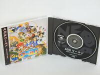 ADK WORLD Ref/ccc Neo Geo CD Neogeo SNK Japan nc