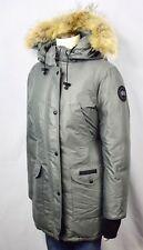 Canada Goose 'Trillium' Down Parka Coyote Fur Womens Jacket Silver S MSRP $900