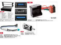 SET 2Din Radio Blende CanBus Fakra phantom ISO Adapter passend für VW SKODA SEAT