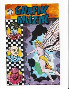Grafik Muzik Vol 1 #2 Mike Allred Early Comic Work Frank Einstein Madman