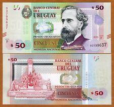 Uruguay, 50 Pesos Uruguayos, 2015 (2017), P-New, Upgraded Security Serie F, UNC