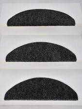 15er Set Stufenmatten Treppenmatten LYON Anthrazit ca. 65 x 22 x 4 cm