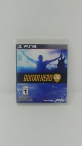 Guitar Hero: Live For PlayStation 3 Game Only PS3 Music