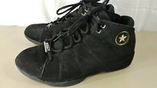 Rare Converse Star Player Pro Leather Mid Top Black Shoes