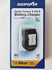 DIGIPOWER DIGITAL CAMERA AND DSLR BATTERY CHARGER - BRAND NEW!!!