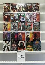 Avengers Marvel 25 Lot Comic Book Comics Set Run Collection Box