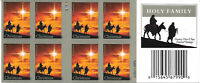 Scott #4711c IMPERFORATE Holy Family Convertible Booklet of 20, MNH, Cat. $35