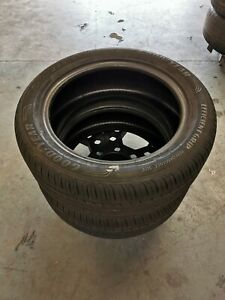 Excellent pair of Goodyear Efficient grip 235/55R19 101V
