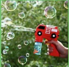 Red Firetruck bubble gun