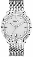 Bulova Unisex Accutron II - 96B206 Stainless Steel Watch (Silver)