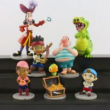 Cute 7pcs/set Jake and The Neverland Pirates PVC Action Figure Toys